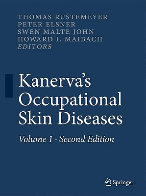 Kanerva's Occupational Skin Diseases By Rustemeyer, T. (EDT)